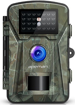 APEMAN Trail Camera 12MP 1080P 2.4 LCD Game&Hunting Camera with 940nm