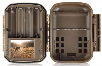 Campark Small Trail Game Camera-12MP 1080P HD Wildlife Waterproof review