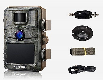 Campark T70 Trail Game Camera No Glow Night Vision 14MP 1080P review