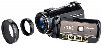 Ancter Full Spectrum Infrared Camcorder review