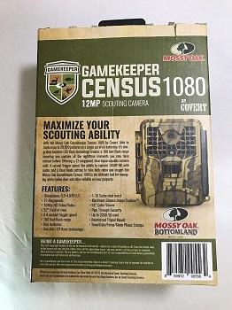 Covert Mossy Oak Gamekeeper Census 1080 Trail Camera review