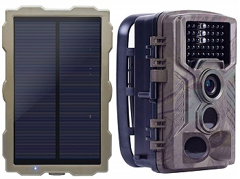 Eco Lcc Solar Trail Camera